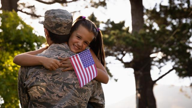 """America is often referred to as the home of the brave. While this is true, the term """"home"""" represents different things to different people. Three military men share what home means to them. (Wavebreak Media Ltd/Big Stock Photo)"""