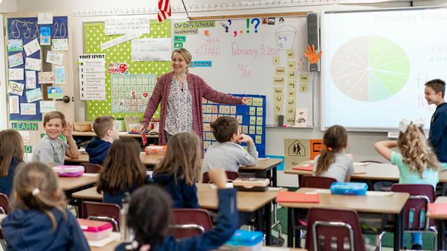 Since opening in 2000, the Franciscan School has grown to become one of the largest private, K-8 institutions in the Raleigh area. With changes on the horizon, school leaders are plunging ahead while staying rooted in the school's original values. (Photo Courtesy of the Franciscan School)