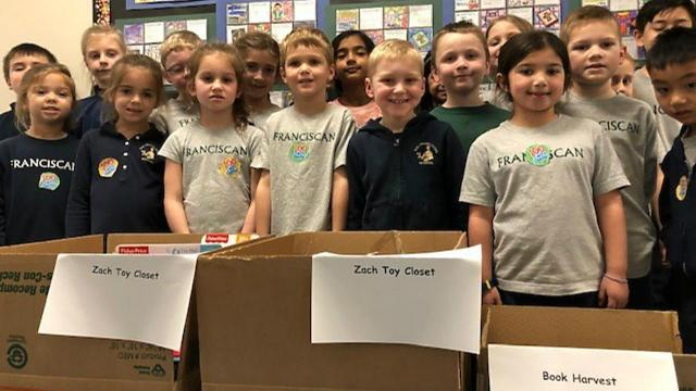 Not only is community service a key facet of the overarching curriculum standards at the Franciscan School, but it's also integrated into the students' daily lives. (Photo Courtesy of the Franciscan School)