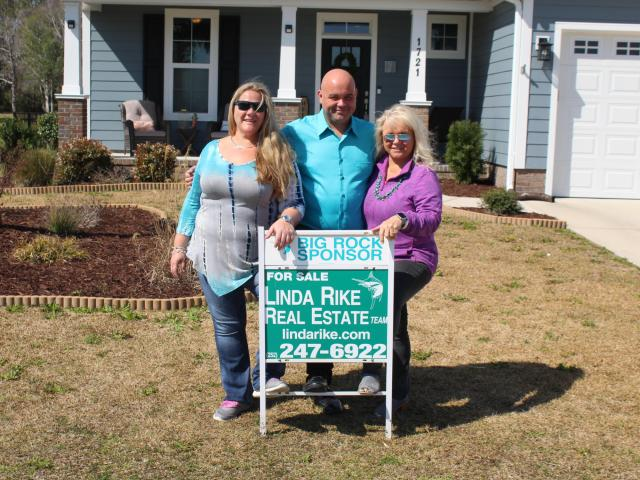 Kelinda, Wyatt and Linda Rike have been leading Morehead City-based Linda Rike Real Estate for decades, garnering widespread recognition and racking up an impressive number of awards in the process. (James Amato/WRAL Digital Solutions)