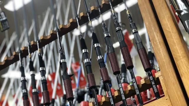 Sanford : Spotlight : Cashion Fishing Rods