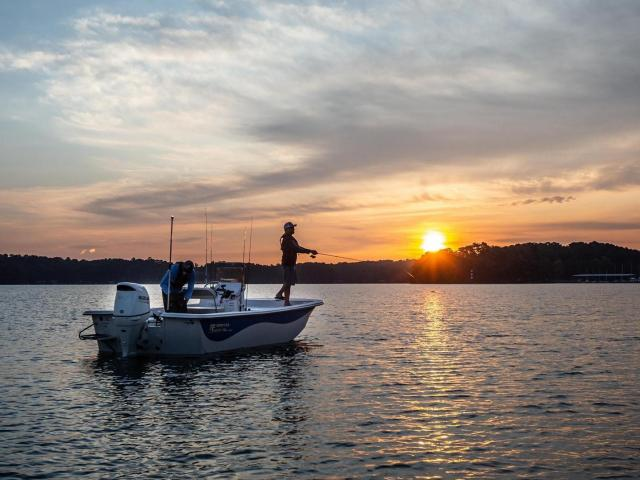 Chatlee Boat & Marine has been a Sanford institution since 1967, largely created after the announcement of Jordan Lake's development promised more aquatic recreation. (Photo Courtesy of Chatlee Boat & Marine)