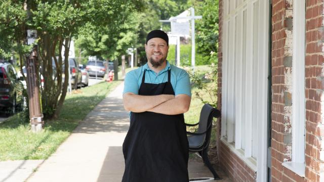 Drawing inspiration from the original street tacos of his hometown, Jose Olivares started Tacos Los Altos  food truck in Hillsborough, and later opened a brick-and-mortar restaurant. (Photo Courtesy of Visit Hillsborough NC)