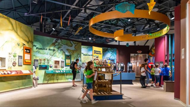 Although the North Carolina Estuarium located in Washington is currently closed due to COVID-19, the virtual tour allows visitors a chance to see what the museum has to offer from the comfort of their homes. (Photo Courtesy of Washington Tourism Development Authority)