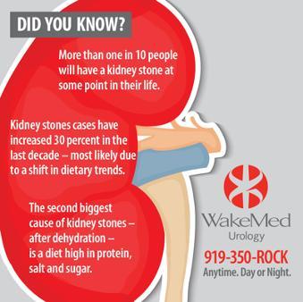 WakeMed : Spotlight : Kidney Stone Center