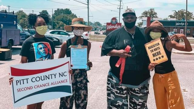 The Pitt County chapter of the North Carolina Second Chance Alliance