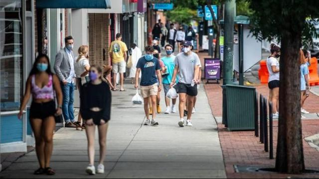 Chapel Hill is making adjustments and changes as it adapts to a new normal like the rest of the country amidst the COVID-19 pandemic, but the college town's Tar Heel spirit remains intact. (Photo courtesy of Visit Chapel Hill)