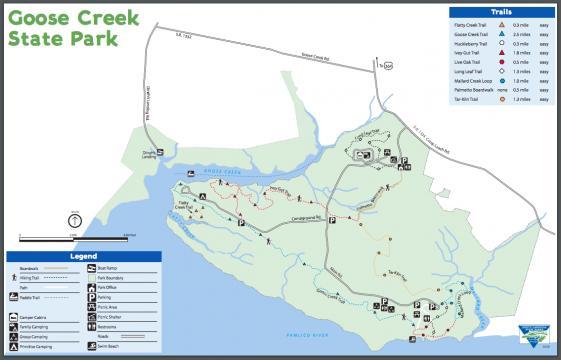 Little Washington : Spotlight : Goose Creek Map