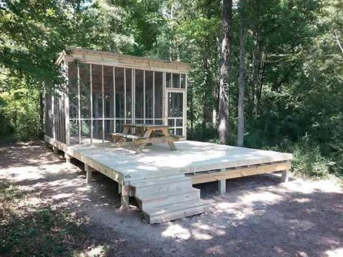 Little Washington : Spotlight : Camping Platform