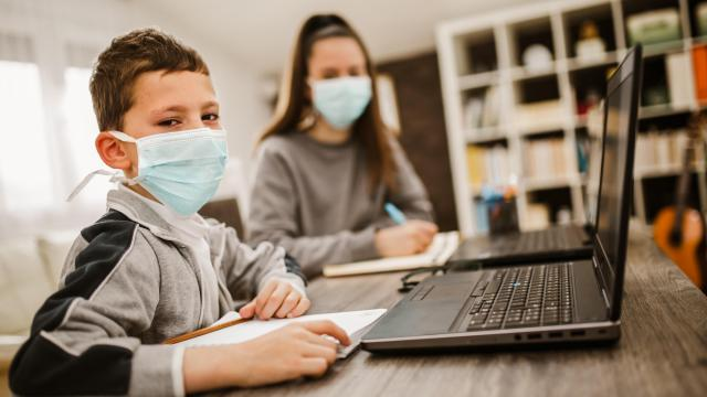 As more children engage in remote learning due to COVID-19, a local pilot program is offering support to students in need. Whitley Law Firm is backing the initiative, showcasing its commitment to the community. (jovanmandic/Big Stock Photo)