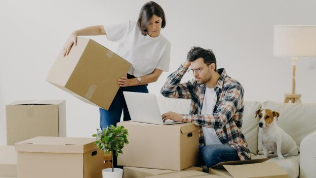 When juggling a move and enlisting the help of professionals, it's important to have full trust in the company you choose, as you'll be placing some of your most prized and cherished possessions in their hands. (VK Studio/Big Stock Photo)