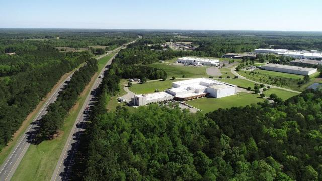 Middlesex Corporate Center, the Highway 97 Industrial Site at I-95, and Whitaker Business and Industry Center are three new industrial properties ready for business. (Photo Courtesy of Nash County Economic Development)