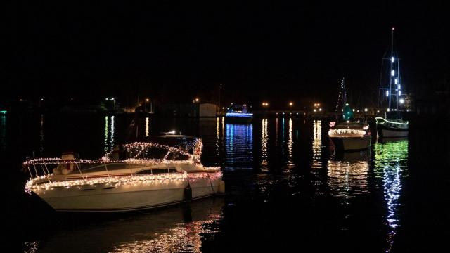 From Christmas Parades to visits from Santa Claus, the holiday season in Elizabeth City is full of festive cheer. (Photo Courtesy of Visit Elizabeth City)