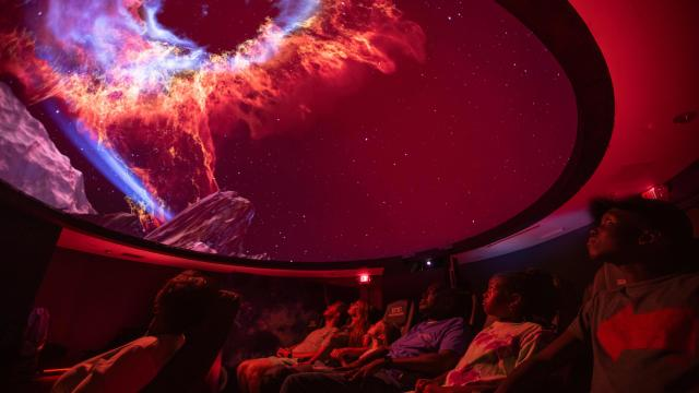 The Khan Planetarium at ECSU is a planetarium that screens shows in its Star Theater and also offers educational and science resources that are open to the public. (Photo Courtesy of Visit Elizabeth City)