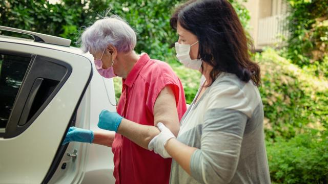 As home care grows in popularity, home care workers are stepping up to the plate to meet increased demands and responsibilities, even amidst the current pandemic. (verbaska/Big Stock Photo)