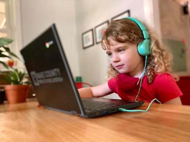 Despite the Wake County Public Schools shift to virtual learning amidst the coronavirus pandemic, the robust offerings and curriculum of the school system's magnet education programs have not missed a beat. (Photo Courtesy of Underwood scholar/WCPSS)