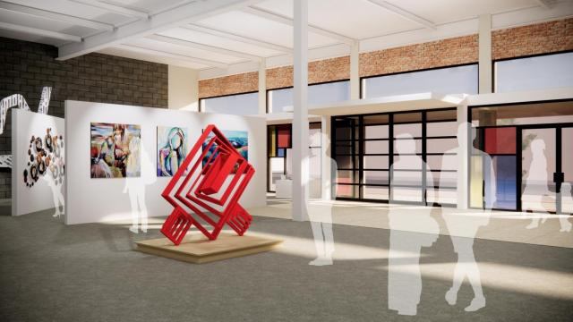 With a new building and logo in the works, the Wilson Arts council's rebranding initiative hopes to see the organization become a hub of activity for the local arts scene. (Photo Courtesy of City of Wilson)