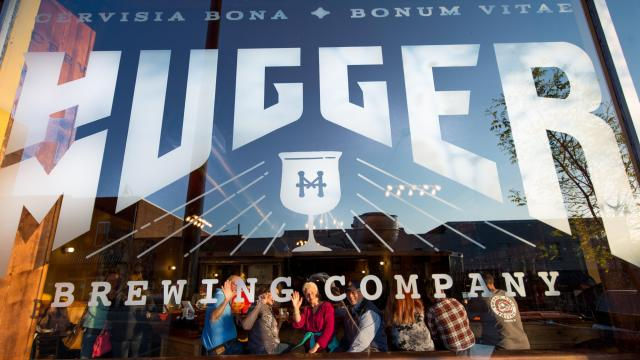 While many breweries tend to specialize in specific types of beer, from IPAs to sours, Hugger Mugger instead specializes in not having a specialty. (Photo Courtesy of Sanford Area Growth Alliance)