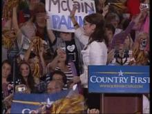 Live: Palin speaks at Greenville rally