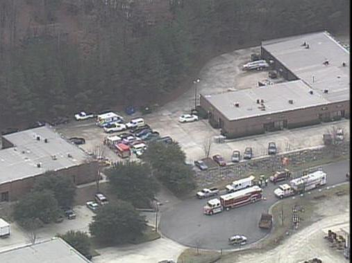 Haz-mat situation in Raleigh