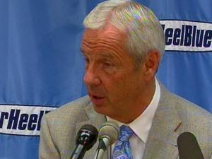 UNC coach Roy Williams