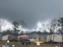 Hope Mills at Kings Mill sub-division around 5:20pm