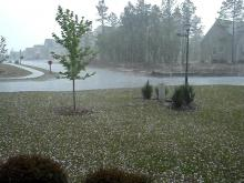 Hail video submitted by Kim Royle