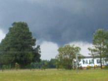 Hwy 264 near Wilson at 6:05 PM 5.5.09