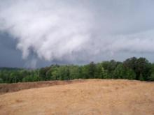Funnel Cloud Viewed from Hodge Rd Knightdale