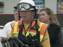 Chief Frank McLaurin of N.C. Task Force 8 Urban Search and Rescue