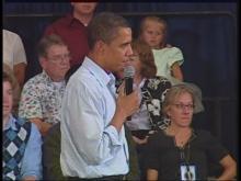 Obama talks health care at Montana forum