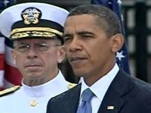 Obama speaks at Pentagon ceremony