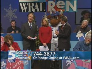 Coats for the Children telethon