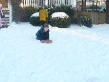 Snow Fun in North Raleigh