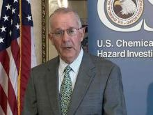 John Bresland, chairman of U.S. Chemical Safety Board