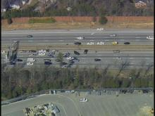 Police chase ends on I-85