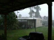 Viewer video: Hail in Raeford