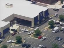Sky 5 flies over shooting at Apex Target