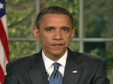 President Barack Obama addresses nation on BP oil spill