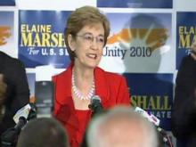 Web only: Elaine Marshall talks about Senate runoff win