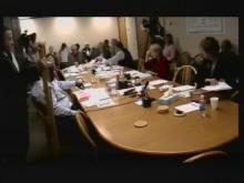 Wake County school board meeting, Nov. 15, 2010