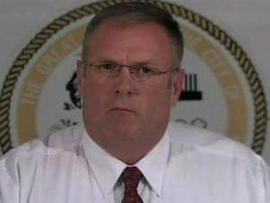 Roanoke Rapids Police Chief Jeff Hinton