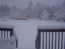 snow in fayetteville