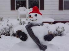 Silly Snowman
