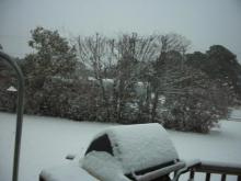 Snow falling Zip code 28570