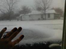 Snow in Dunn, NC