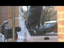 Raw video: Clayton police raid marijuana operation