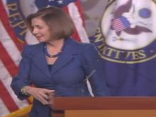 Pelosi talks about the next federal budget