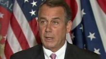 Boehner: Issue is spending
