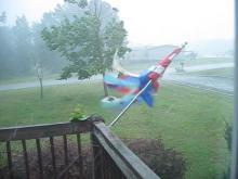 Bad Thunderstorm at 12:56 pm May 27th, 2011